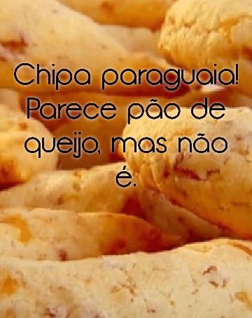 Receita da Chipa Paraguaia