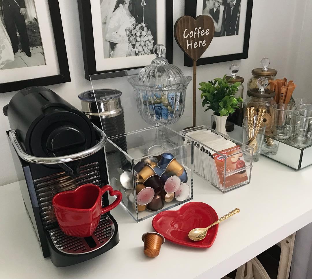 Inspirações para o seu cantinho do café