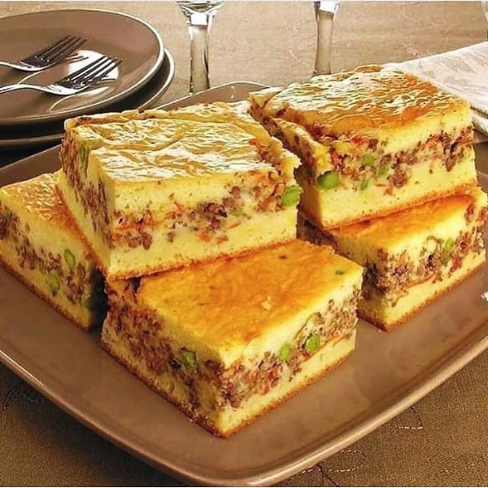 Torta de frango low carb