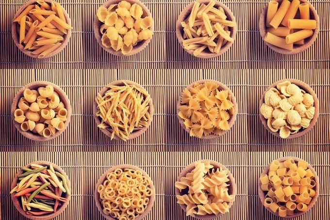 Tipos de macarrão
