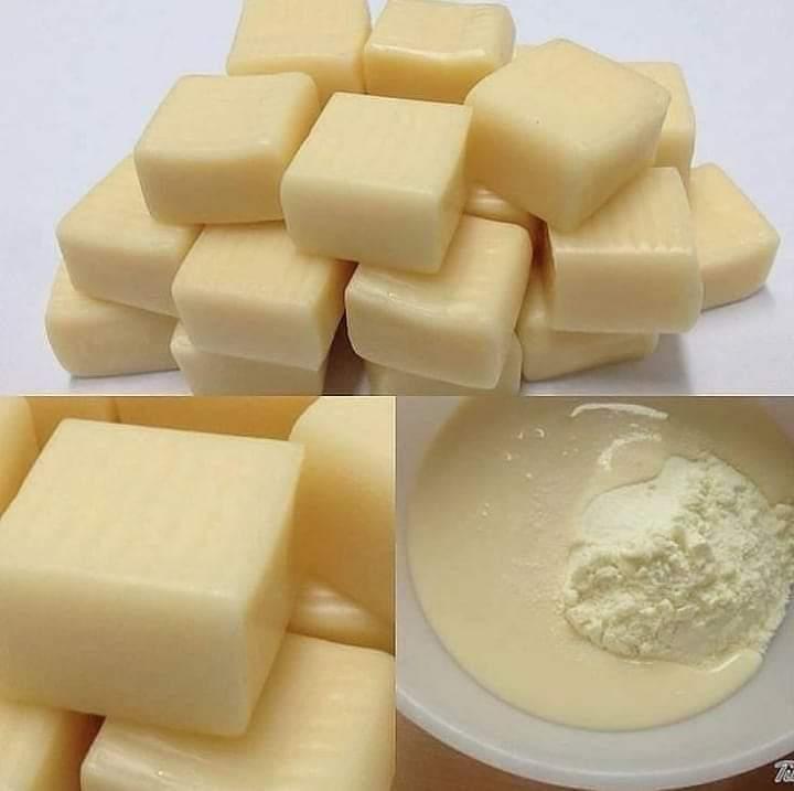 Balas de leite condensado