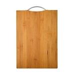 Tabua De Corte Em Bambu Para Churrasco Legumes Com Alça 32x22cm