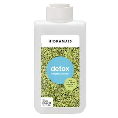 Loção Hidratante Corporal Hidramais - Detox 500ml - Unissex-Incolor