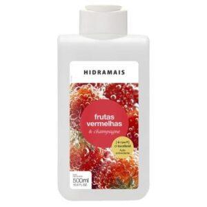 Loção Hidratante Corporal Hidramais - Frutas Vermelhas e Champagne 500ml - Unissex-Incolor