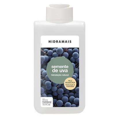 Loção Hidratante Corporal Hidramais - Semente de Uva 500ml - Unissex-Incolor