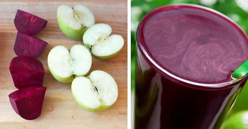 Shake de vegetais para desintoxicar o organismo