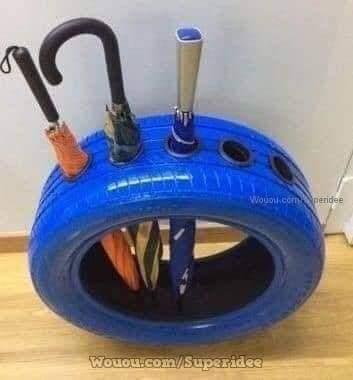 Ideias para você reciclar pneus