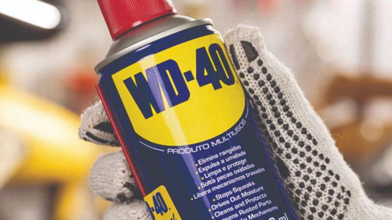 Usos para o WD-40 que nunca passou pela sua cabeça