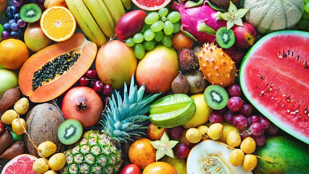 Nomes de frutas sem a letra A
